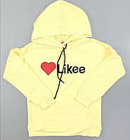 Свитшот Likee для девочек  128 / 164 см, фото 1