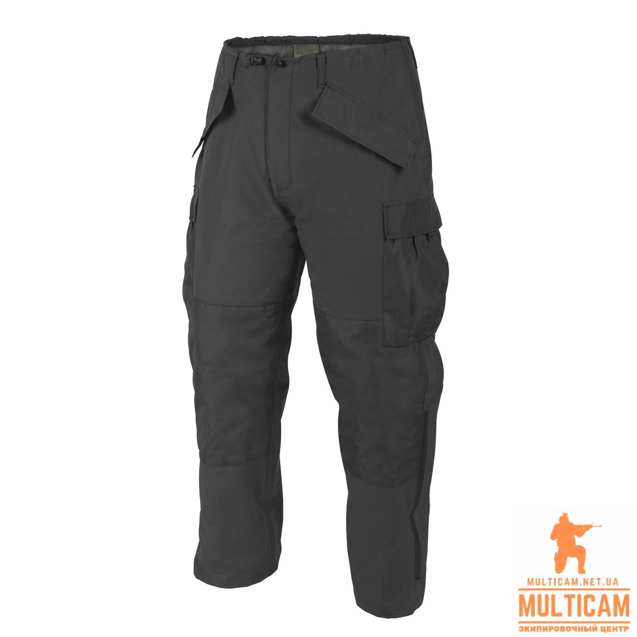 Брюки дождевик Helikon-Tex® ECWCS Trousers Gen II - H2O Proof - Black