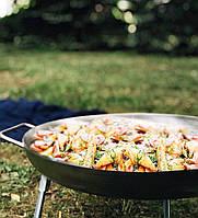Сковорода (Диск) для пикника из нержавеющей стали (32см.)