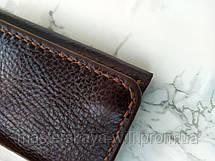 """Мужской кошелек из натуральной кожи ручной работы """"Mono"""", фото 3"""