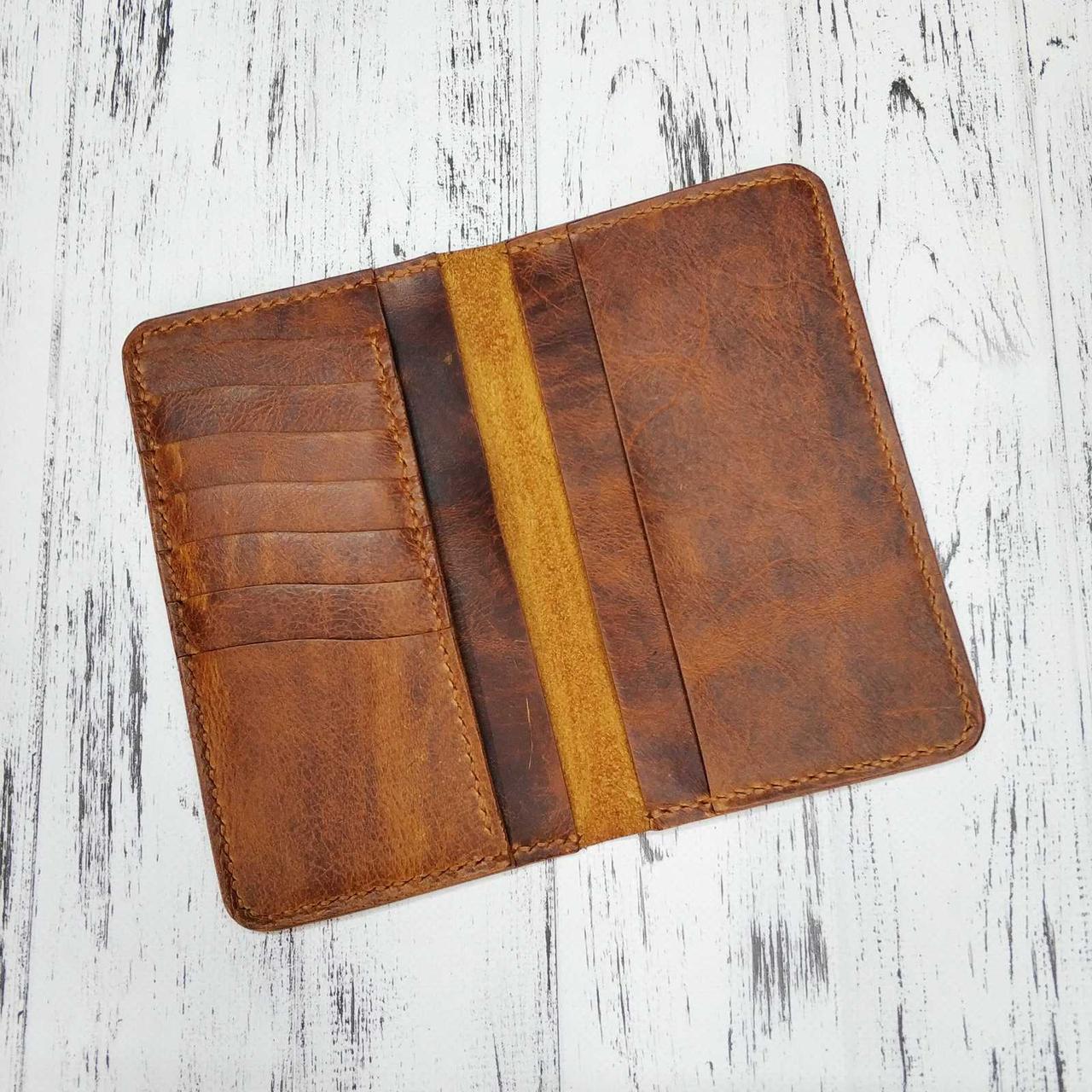 Бумажник кожаный Stedley Ostrek 2