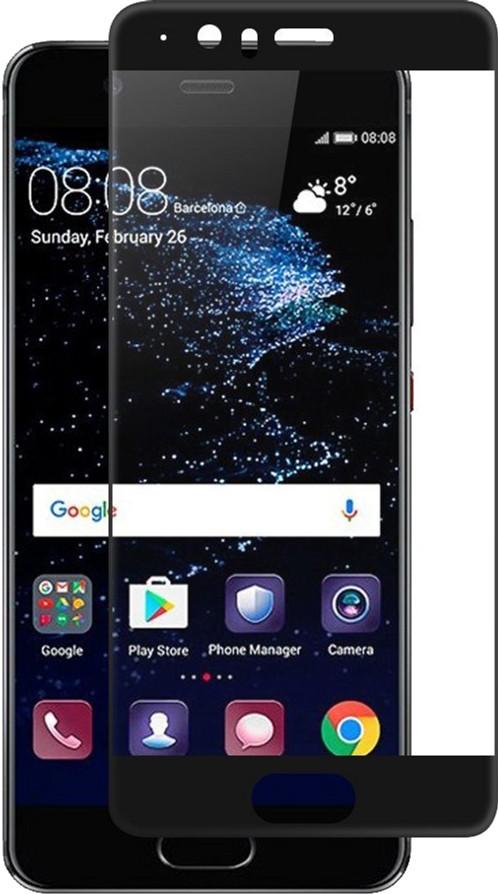 Защитное стекло PowerPlant Full screen Huawei P10 Black (GL604975)
