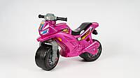 Каталка-толокар Беговел детский Мотоцикл ORION 501-R Розовый (NA00592)