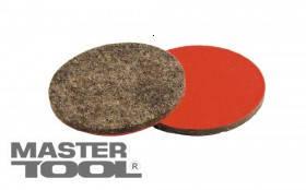 MasterTool  Круг войлочный на липучке жесткий влагостойкий 100 мм, Арт.: 08-6610