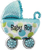 Коляска для мальчика BABY BOY 82х108см