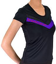 Женская тренировочная футболка