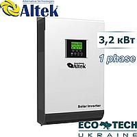 Солнечный автономный инвертор ALTEK PV18-4K MPK МРРТ 60А и устройством для сопряжения инверторов