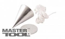 MasterTool  Отвес строительный металлический конусный, 100 г, Арт.: 30-0601