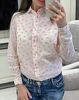 """Рубашка женская из коттона """"Фрукт"""", фото 1"""
