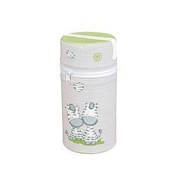 Термоупаковка для одной бутылочки с пенопласта универсальная CEBA Zebra grey