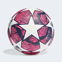 Мяч футбольный Adidas Мяч Finale Istanbul Club FH7377 №4 Белый с красным, фото 2