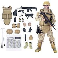 Фигурка американский солдат спецназ American Military Soldier