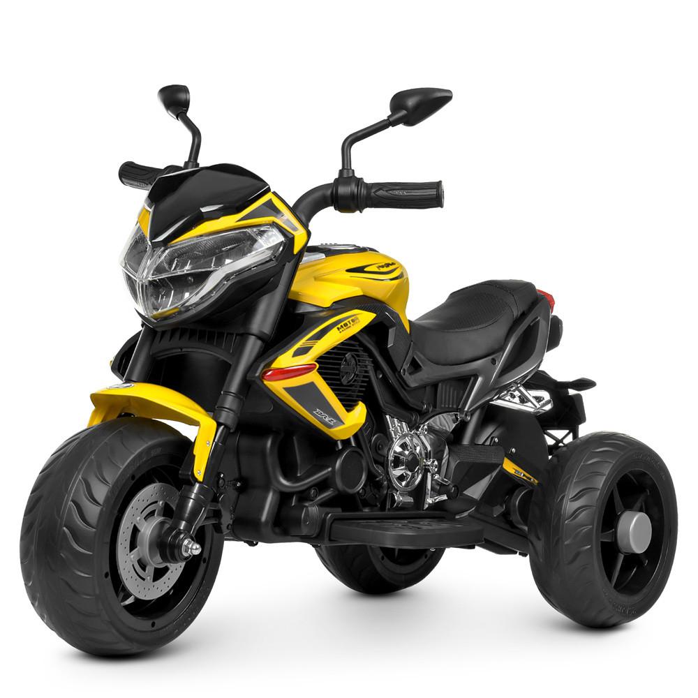 Мотоцикл M 4152EL-6 чорно - жовтий BAMBI