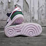 Женские кроссовки в стиле Nike Air Force Shadow White, Найк Аир Форс (Реплика ААА), фото 7