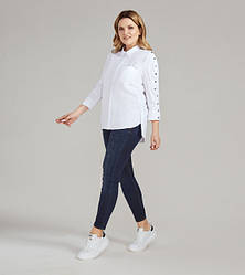 Блуза женская Беларусь модель ПА-438640-20 белая