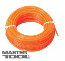 """MasterTool  Леска для триммера 2,40 мм* 15 м, """"звезда"""", Арт.: 19-1024"""