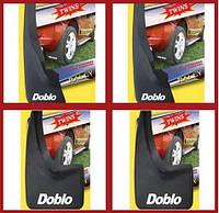 Брызговики (4 шт, резина) - Fiat Doblo I (2001-2005)