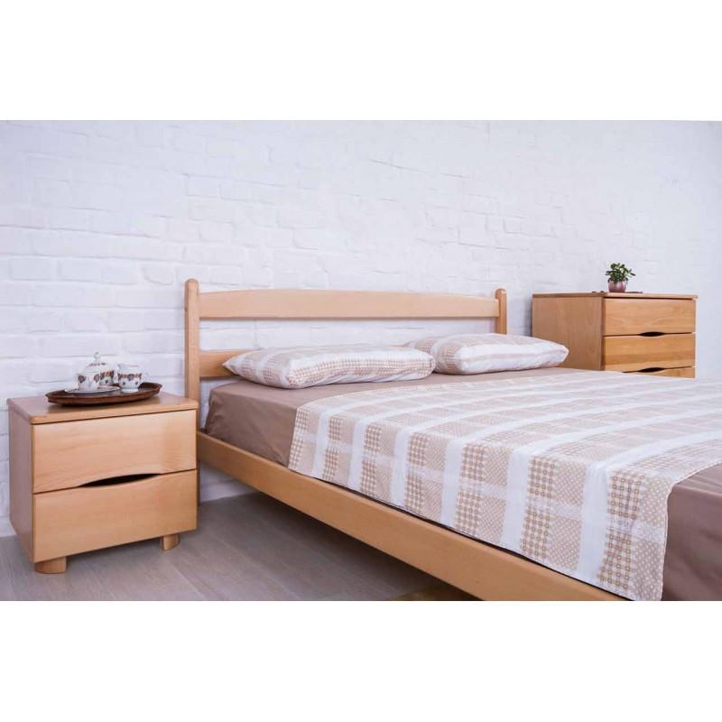 Кровать деревянная Ликерия 1,4 с изножьем