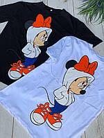 Женская футболка с Мики Маусом