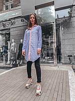 """Рубашка-платье женская из хлопка """"Лади"""", фото 1"""