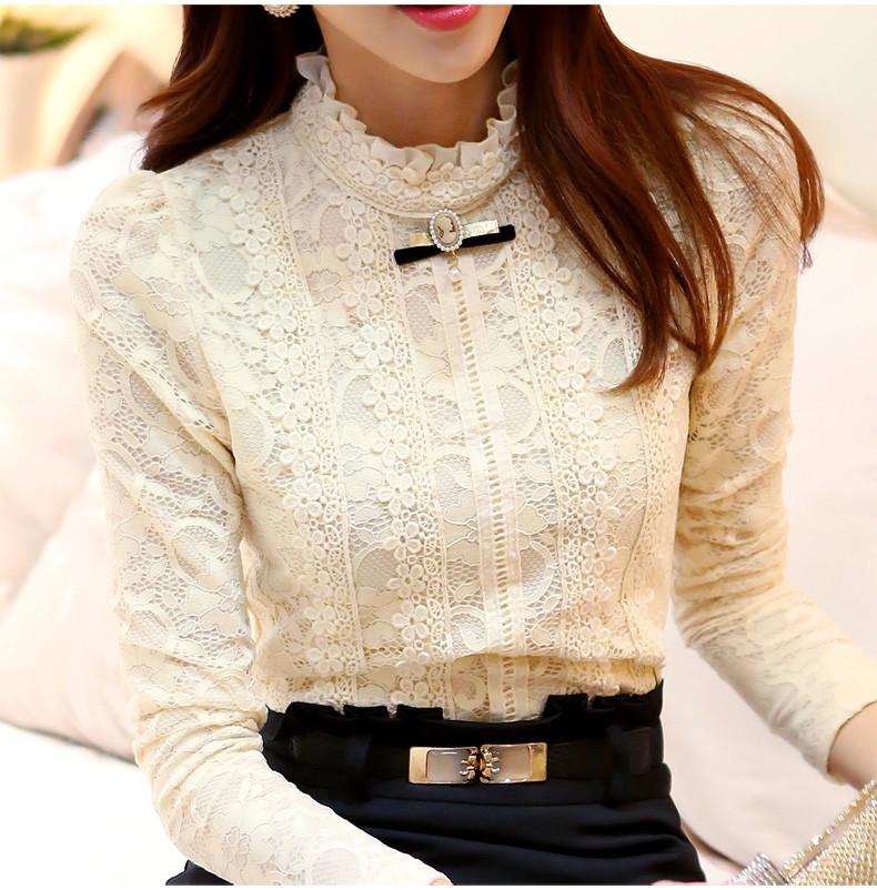 532c5573277 Кружевная белая блузка - NewMagazine в Харьковской области
