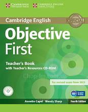 Objective First Fourth Edition Teacher's Book with Teacher's Resources CD-ROM / Книга для учителя