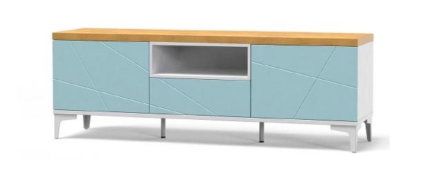 Тумба TV Art-In-Head AТ-19 Picassa блакитна лагуна