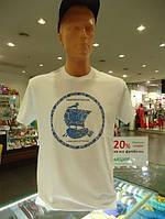 Футболки с печатью на заказ Днепропетровск, футболка мужская, женская