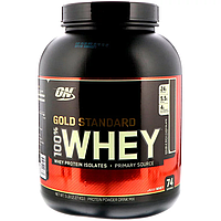 Сывороточный протеин (Whey Gold Standard),двойной шоколад ,Optimum Nutrition, 2.27 кг