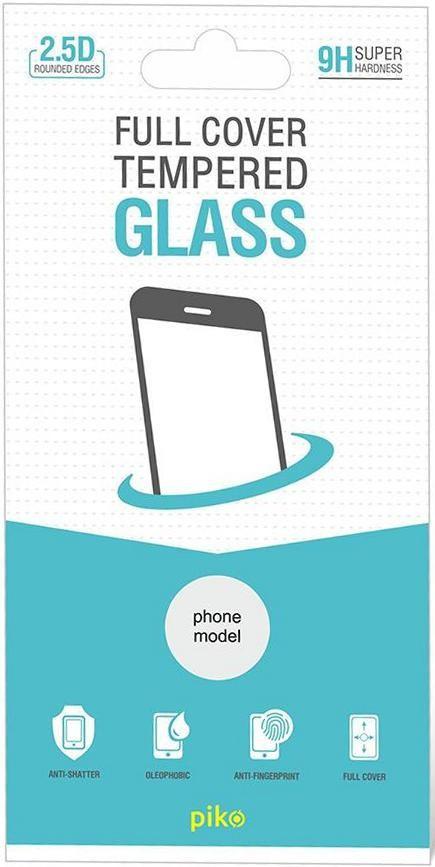 Защитное стекло Piko Full Glue для Xiaomi Redmi Note 8T (черное)