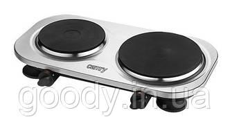 Плита двохконфорочна (електрична) Camry CR 6511 2500 Вт