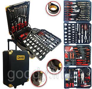 Професійнийнабір інструментів MaxTools GERMANY  (386 предметів) з валізою