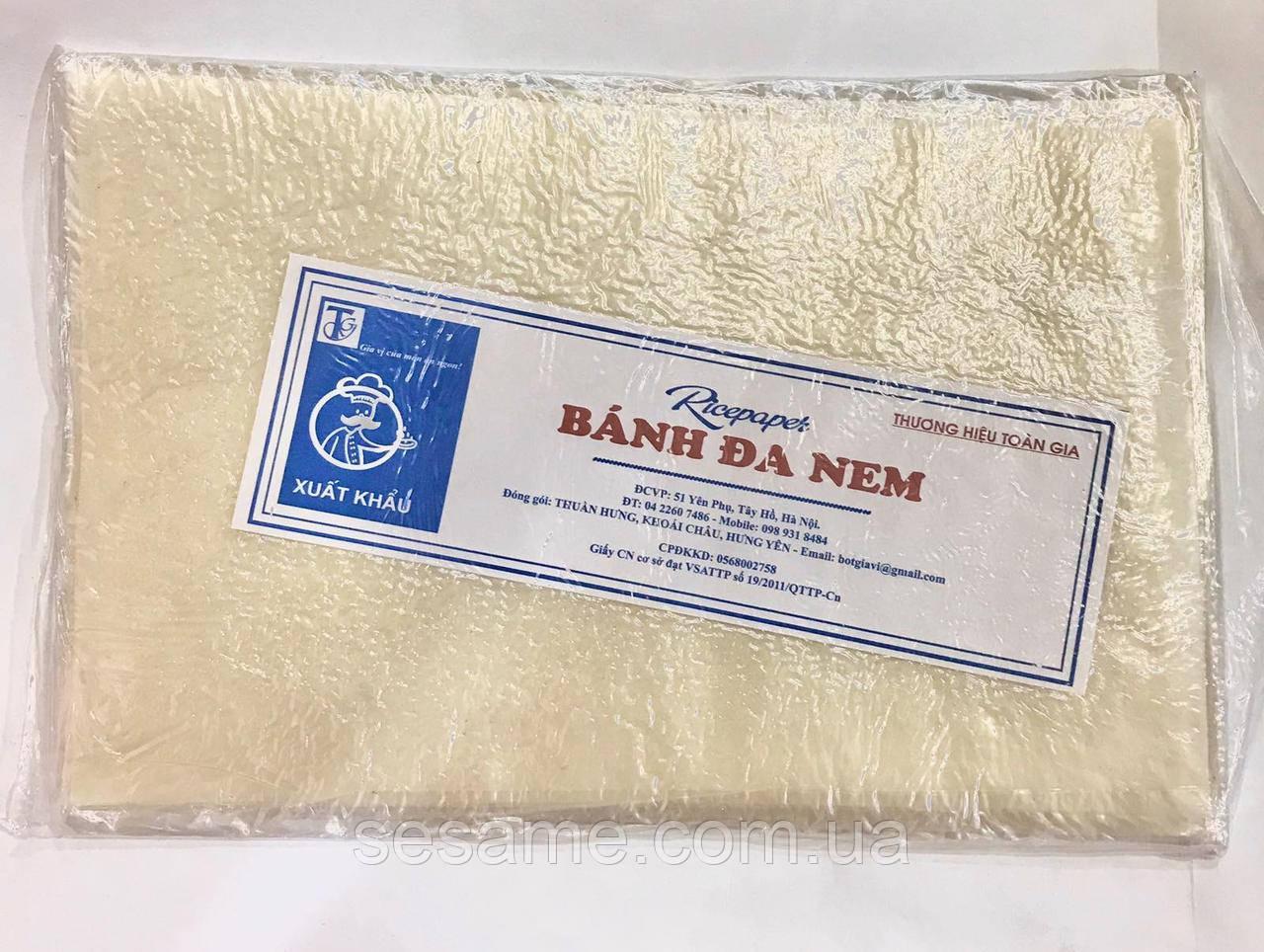 Рисовий папір Rice Paper Banh Da Nem 100 грам (В'єтнам)