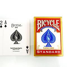 Карти гральні | Bicycle Standard (Rider Back) червона