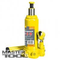 MasterTool Домкрат гидравлический бутылочный 2 т, 181-345 мм в пласт. кейсе, Арт.: 86-1020