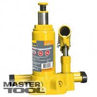 MasterTool Домкрат гидравлический бутылочный 2 т, 148-276 мм в пласт. кейсе, Арт.: 86-1021
