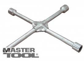 "MasterTool  Ключ баллонный крестовой усиленный 17x19x21x1/2"", 350*16 мм, Арт.: 73-0313"