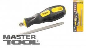 MasterTool  Отвёртка 2-В-1 насадка 150 мм РН2/SL6, Арт.: 40-0141