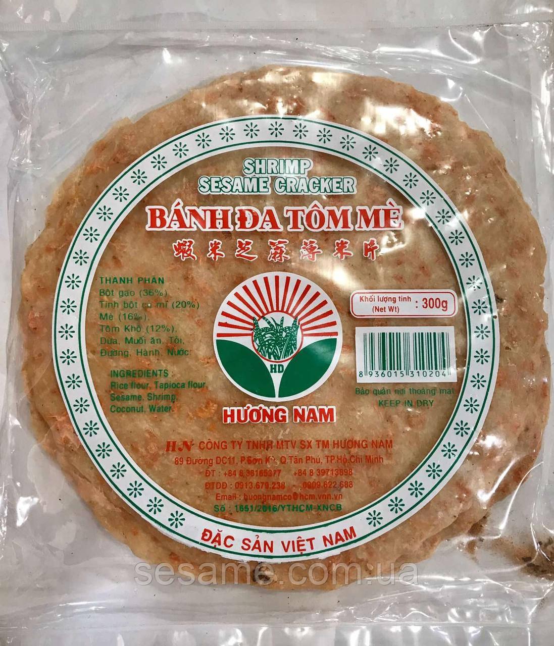 Рисовая лепешка с креветкой Banh da tom me 300г (Вьетнам)