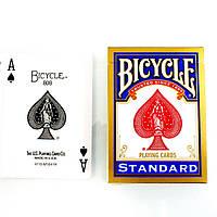 Bicycle Standard (Rider Back) Игральные карты синяя колода
