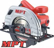 MPT  Пила циркулярная PROFI 1380 Вт, 185*20 мм, 5300 об/мин, пропил 65 мм, 45-90*, аксесс. 2 шт, Арт.: MCS1803