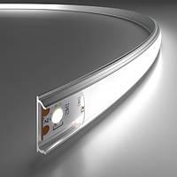 Комплект. Гибкий профиль для светодиодной ленты ЛПФ-5б матовый 4.8х18