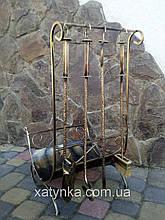 Набор для камина кованый №3