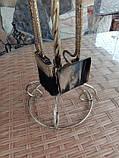 Набор для камина кованый №5 (витая труба), фото 4