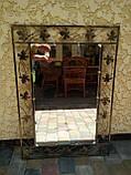 Зеркало в кованой раме большое, фото 4