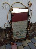 Зеркало в кованой раме новое малое, фото 4