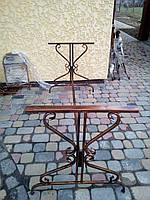 Садовый стол боковины кованые 2 шт.