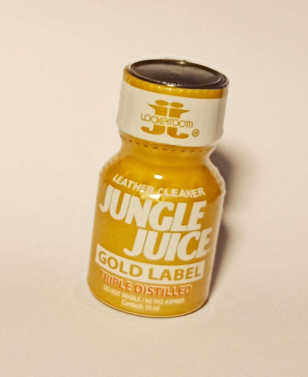 Попперс JUNGLE JUICE Gold Label triple distilled 10 ml