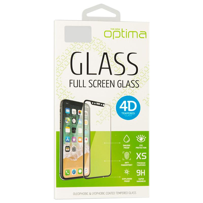 Защитное стекло Optima 4D iPhone 7 White (69493)