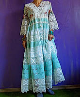 Макси платье в стиле БОХО (724)